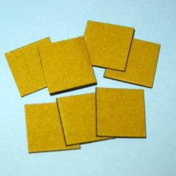 Ценникодержатель «Магнит толщиной 1,5 мм с тонк. скотчем» (р-р 1,9х1,9мм)